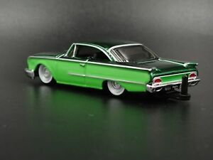 1960-FORD-STARLINER-RARE-1-64-LIMITED-COLLECTIBLE-DIORAMA-DIECAST-MODEL-CAR
