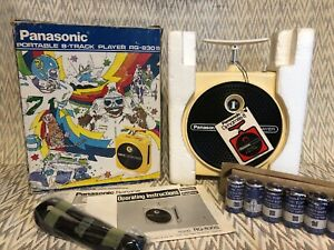Panasonic-8-Track-Player-TNT-RQ-830S-White-Rare-1-of-12