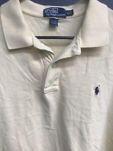 Men-s-Ralph-Lauren-Polo-Long-Sleeve-Polo-Shirt-Size-2XL-Yellow