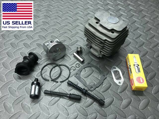 Replacement cylinder piston Stihl 028 Super 46mm Gaskets NGK Plug 1118 020  1202
