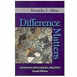 Buy Difference Matters Communicating Social Identity By Brenda J
