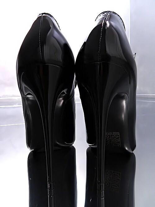 NEU HOHE LACK Stiletto Pumps Elegant Damen Damen Damen High Heels O92 Schuhe Schwarz 37 e595ec