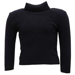 9445U-maglione-bimba-PAIO-CRIPPA-dolcevita-lana-merino-blu-sweater-kid