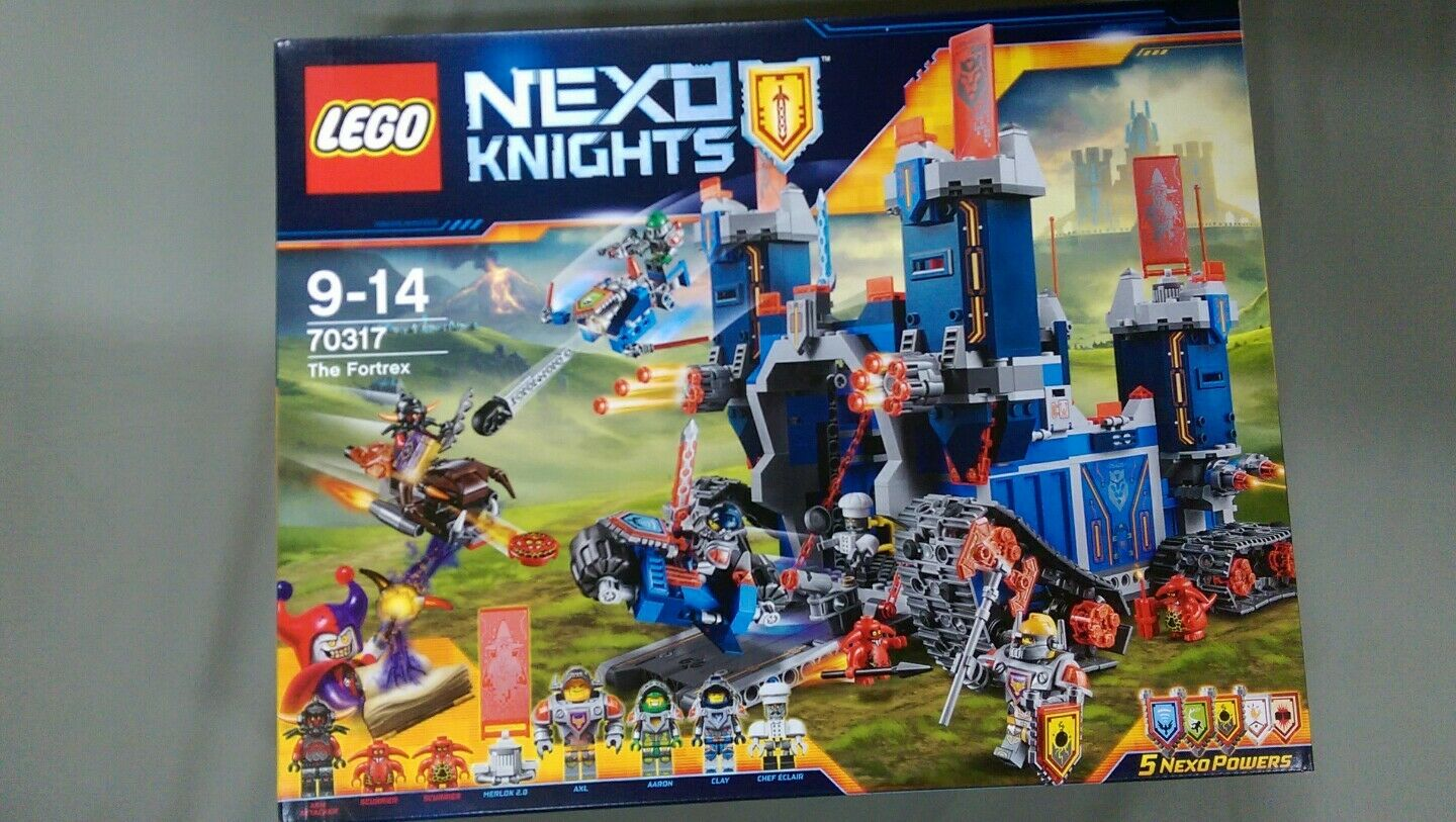Lego Nexo Knights - 70317 - Le Fortrex - NEUF Scellé