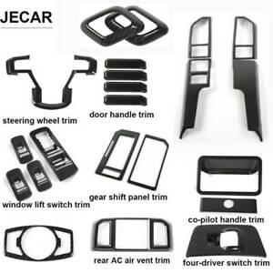 20X Carbon Fiber full Interior Accessories Decor Cover Trim For Ford F150 16-19