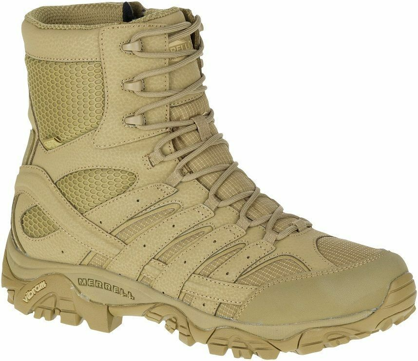 MERRELL Moab 2 8  Waterproof J15841 Tactical Military Army Combat Boots Mens