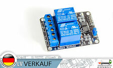 2-Kanal Relais Relay Modul 5V für Arduino Raspberry Pi PIC AVR ARM MCU