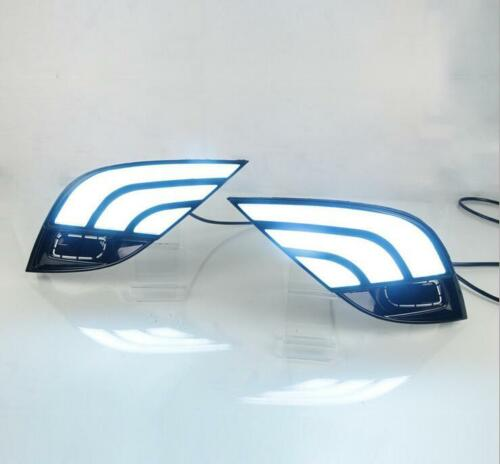 3 Color LED Fog light DRL Daytime Running Light for Toyota Camry SE XSE 18-19