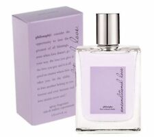 Philosophy UNCONDITIONAL LOVE 4.0 oz 120 ml Women Perfume EDT Spray New NO Box
