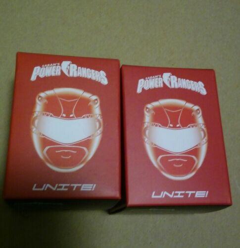 Mighty Morphin Power Rangers Ranger vermelho Mini Boneco exclusivo Lootcrate Novo