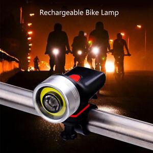 Luz-LED-Delantera-Bicicleta-para-Ciclismo-Reflectante-Senalizacion-Recargable