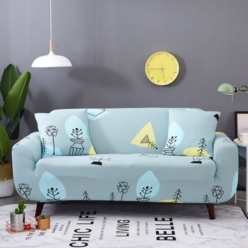 1//2//3//4 Seater Elastic Sofa Covers Slipcover Hot Stretch Floral Couch Protector
