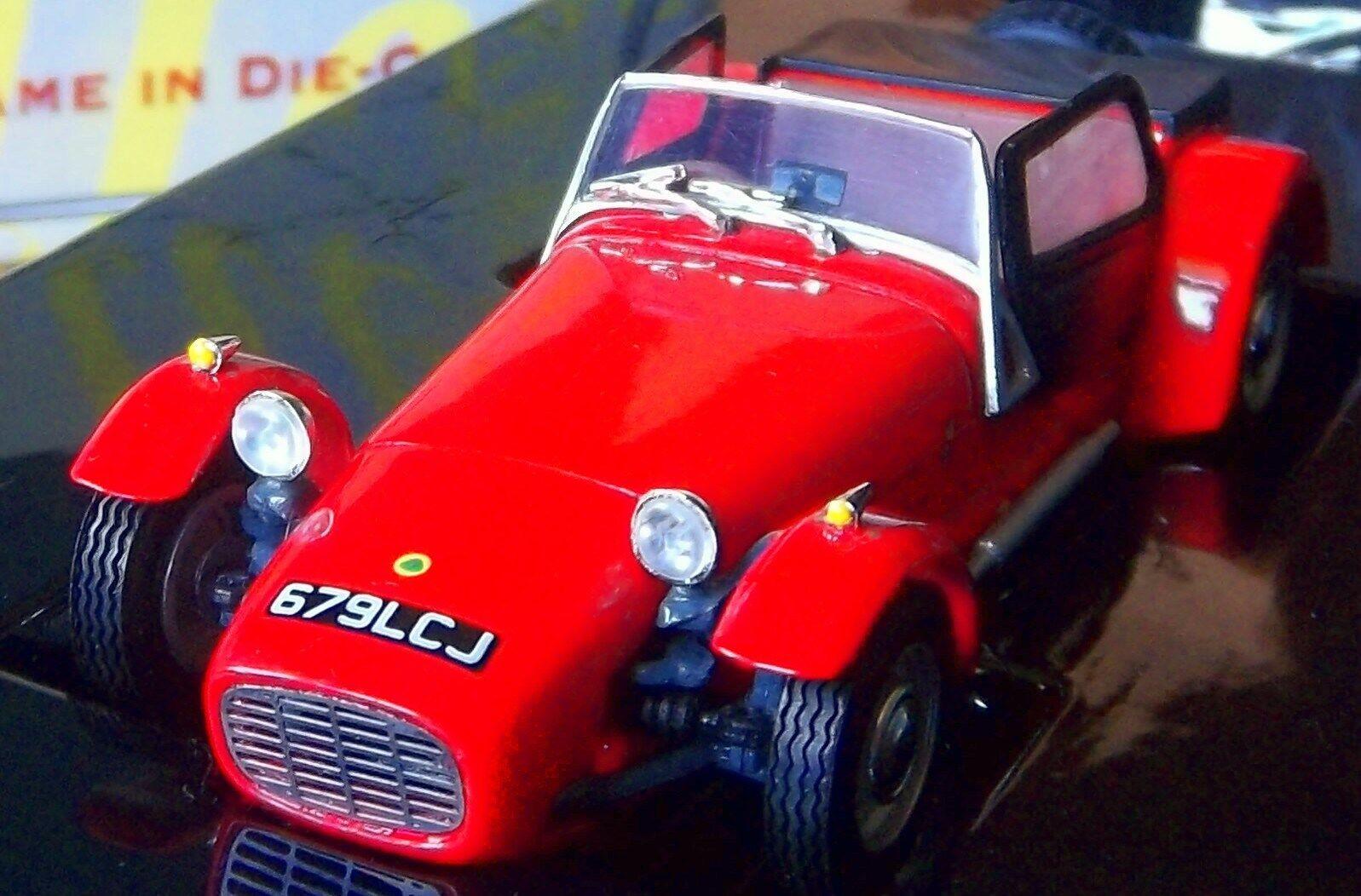últimos estilos Un 61 Lotus Lotus Lotus 7 Dinky Rara Edición Limitada S1 Lotus siete Rojo Negro Lotus nla Lotus  autorización