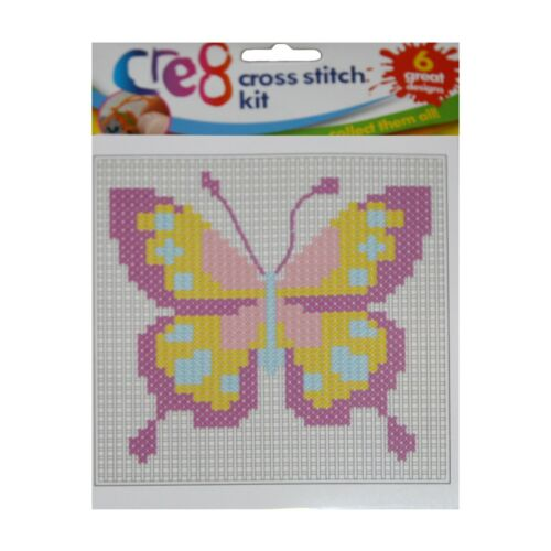 Fun Kid/'s paquete de artesanía punto de Cruz Costura De Niñas De Lana De Tejer Kit de aprendizaje