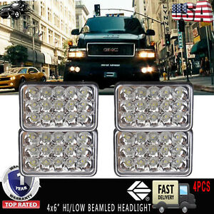 4x6 led sealed beam headlight upgrade for gmc topkick. Black Bedroom Furniture Sets. Home Design Ideas