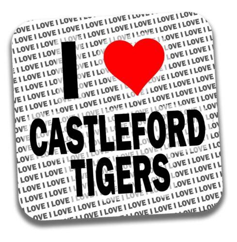 I LOVE Castleford Tigers boissons Coaster-Cadeau-Anniversaire-Stocking Filler