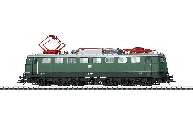 37855 E-Lok BR e 50 della DB MFX + Sound metallo OSSIDO DI CROMO VERDE  neu in OVP