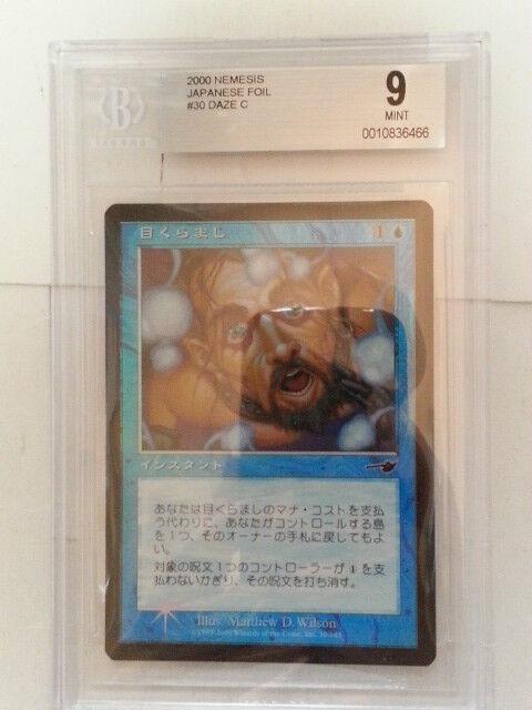 MTG MTG MTG Daze Foil Japanese NE BGS9 21b40b