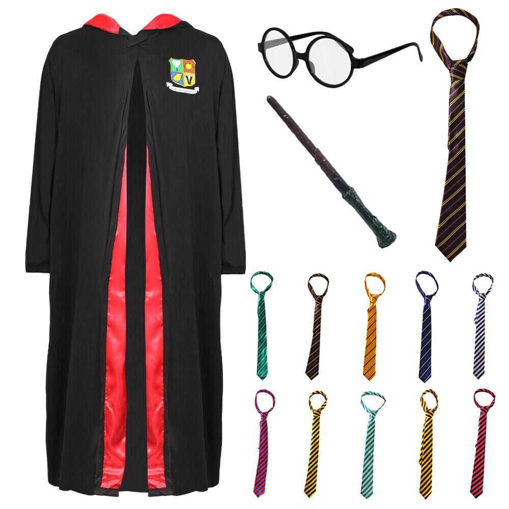 SCHOOL WIZARD ROBE COSTUME PICK N CHOOSE BOOK DAY SCHOOL UNISEX FANCY DRESS LOT