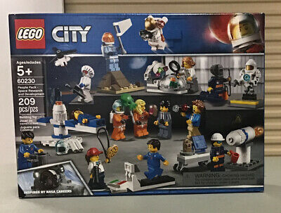 209 Piece Space Research and Development 60230 Building Kit LEGO City Space Port People Pack