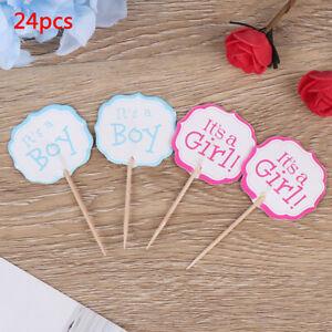 24pcs-boy-girl-Cupcake-Cake-Toppers-Baby-Shower-Kids-Favors-Birthday-Decor-US