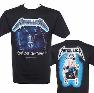 METALLICA-RIDE-THE-LIGHTNING-Official-Licensed-T-Shirt-New-S-M-L-XL