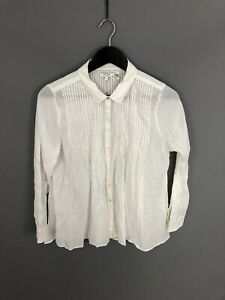 FAT-FACE-Shirt-Size-UK10-White-Great-Condition-Women-s