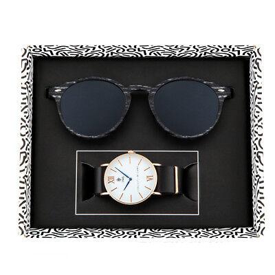 Coppia orologio + occhiali da sole TWIG GIFT PACK uomo/donna
