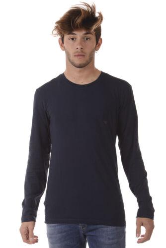 Shirt Cotone Emporio T 135 Maglietta Blu Sweatshirt Armani Uomo 1110237a725 HqwnXd7n
