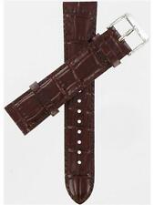 Seiko 20mm Brown Genuine Calfskin 4LF2ZB Men's Size Watch Band AU06071N