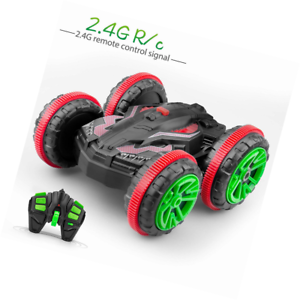 Norbase Radio Controlled Car, Amphibious Waterproof Stunt Remote Control Vehicl