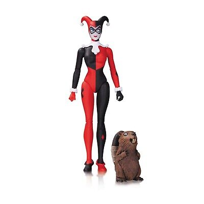 DC Icons Designer Series Conner Holiday Harley Quinn Action Figure NEW IN STOCK