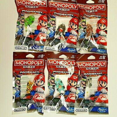 New Mario Kart Gamer Power Pack Donkey Kong for Monopoly Board Game FREE GWP