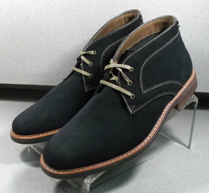 5936016 MSBT 50 Chaussures Hommes Taille 11 M Marine Foncé Daim à Lacets Ups Johnston & Murphy