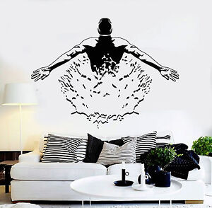 Details about Vinyl Wall Decal Swimmer Pool Swimming Pool Swim Mural  Stickers (ig4216)