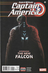 Marvel-Comics-Sam-Wilson-Captain-America-5-Near-Mint-Never-Read