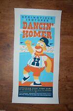Dave Perillo Dancin' Homer The Simpsons silkscreen art print S/N Dancing Mr Plow