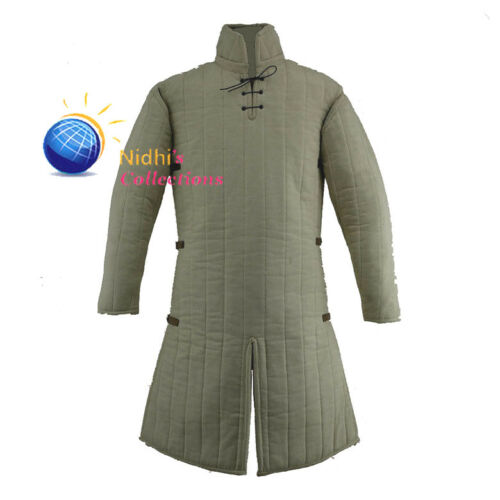 Medieval Knight Armor Gambeson Outfit Clothing sca//Hema//Larp Dress Reenactment
