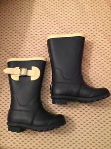 Details About Mini Boden Toddler Rain Boots Size Us 7 Eur 23 Navy Blue