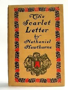 image is loading antique 1900 the scarlet letter by nathaniel hawthorne