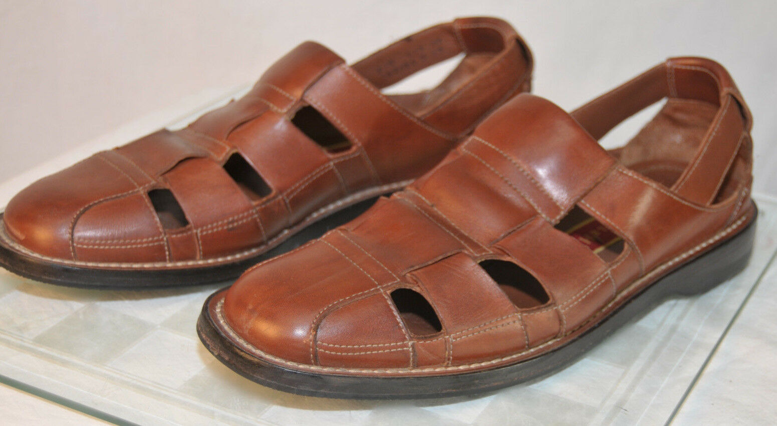 Cole Haan Fisherman Sandals  Brown Mens size 8 1 2 M