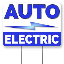 Auto Electric 18x24 Inch Sign With Display Options