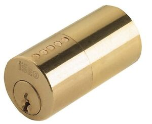 CYLINDER-ISEO-F5-ROUND-BRASS-33-17-32in26-REPLACEMENT-LOCK-APPLY-3-KEYS
