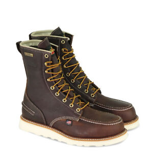 78c327ef3d0 Details about Thorogood Boots Made In USA Waterproof 8