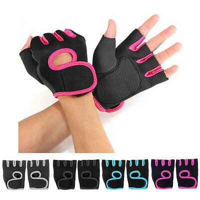 Men's Fitness Exercise Workout Weight Lifting Sport Gloves Gym Training Women