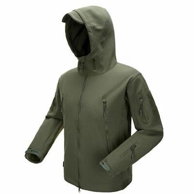 MANDRAKE Sharkskin SoftShell Fleece Tactical Jacket Hunting TAD Kryptek Hoodie