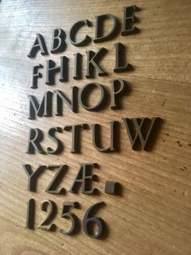 X1 Bronze Letter S Typeface Antique More Letters Available Alphabet Initials
