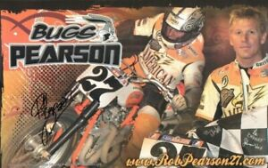 2008-039-039-Bugs-039-039-Rob-Pearson-27-Signed-Motorcycle-Racing-Poster