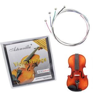 4-stuecke-Violinsaiten-Stahlkern-Nickel-Silber-Wunde-Exquisite-Instrument-Part-SA