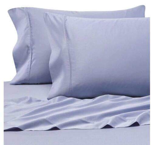 Pure Beech Modal Sateen King Pillowcases in Blue